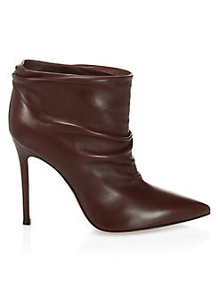 7786a811a22b Gianvito Rossi. Point Toe Stiletto Booties