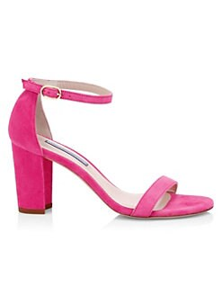 381fba9d9bce Nearlynude Suede Sandals PINK. QUICK VIEW. Product image