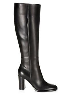 1f9e954d731 QUICK VIEW. Gianvito Rossi. Calf-High Leather Boots