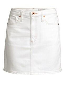 17ae0340e46 AG Jeans. Denim Mini Skirt