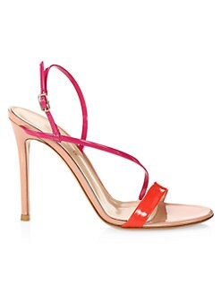 dfa39542573d QUICK VIEW. Gianvito Rossi. Strappy Neon Stiletto Sandals