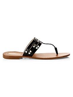 b9674c7300ec Kate Spade New York. Carol Spades Studded Leather Sandals