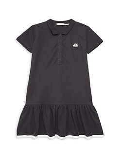 Moncler. Little Girl s   Girl s Flounce Hem Polo Dress 7867aa3115a1f