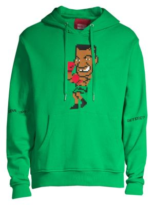 Mostly Heard Rarely Seen Knock Out Graphic Hoodie