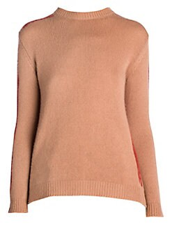 a1faea3d4f3da Marni. Cashmere Painted Open Back Cashmere Sweater