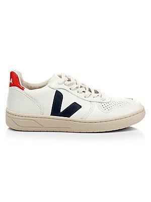 41b8d2f2b12c Comme des Garcons Play - Peek-A-Boo Canvas Low-Top Sneakers - saks.com