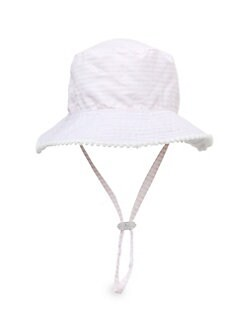 4a6b48489f5 Product image. QUICK VIEW. Snapper Rock. Baby s Reversible Stripe Bucket Hat