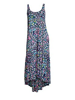 f59c59f557 Lilly Pulitzer. Camellia Maxi Cover-Up