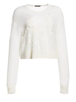 0740558f758 Rag   Bone - Milton Pieced Long-Sleeve Sweater