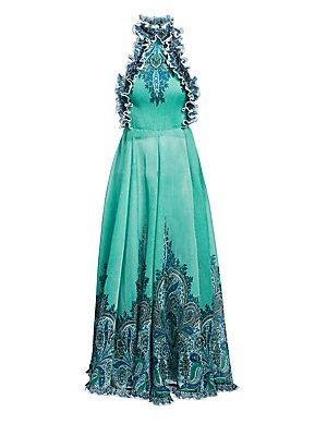 bbc20cf124b Zimmermann - Paradiso Gingham-Print Dress - saks.com
