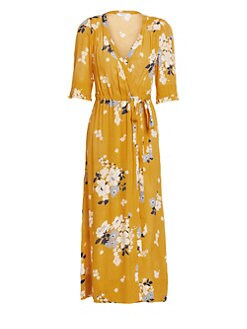 4648ba93d07 QUICK VIEW. Sea. Pia Floral Wrap Dress