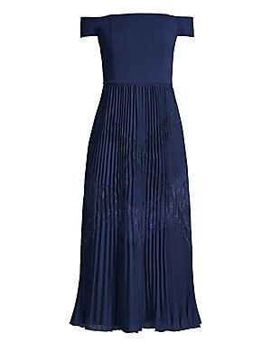 139c3e0409de Max Mara - Gineceo Belted Plissé Sleeveless Sheath Dress - saks.com