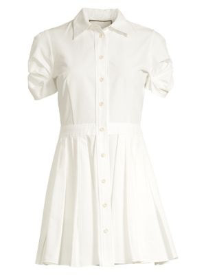 Alexis Dresses April Puff-Sleeve Shift Dress