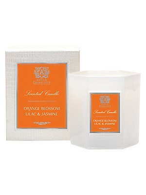 Image of A gorgeous rendition of a classic orange blossom scent. This bright fragrance begins with captivatingcitrus notes of mandarin and Sicilian lemon blending beautifully with floral notes of orangeblossoms, jasmine and lily-of-the valley. This floral scent is
