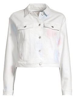 92c6172c9955 Joe s Jeans. Tie-Dye Denim Boyfriend Jacket