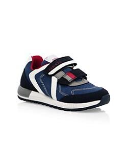 5d2a7537ca4 Geox. Boy s J Alben Mixed Media Sneakers