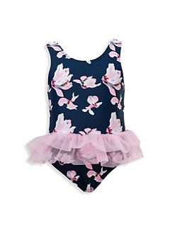 47c0485f9175e QUICK VIEW. Snapper Rock. Baby Girl s Orchid One-Piece Swimsuit