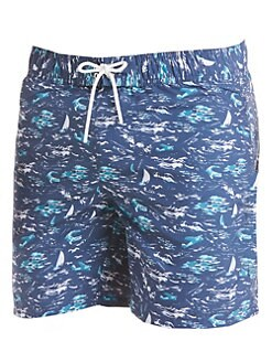 a3bf48768973 Lacoste. Printed Swim Trunks