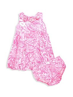 cea593a73a5 Lilly Pulitzer Kids. Baby Girl s Dress   Bloomers Set