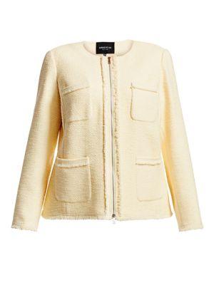 Lafayette 148 Jackets Benji Tweed Jacket
