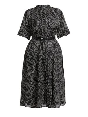 Lafayette 148 Dresses Augustina Piazza Print Shirtdress