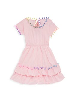 aee6a6cc45c0 Little Peixoto. Little Girl s   Girl s Nissi Pom-Pom Dress