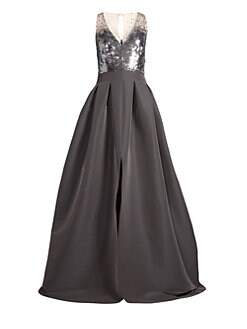 dcd85c6b84 Formal   Evening. Sachin   Babi - Elle Sequin Ball Gown