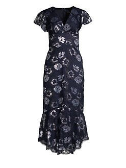 8d9e19ee2a1ad QUICK VIEW. Shoshanna. Esmira Floral Lace Midi Dress