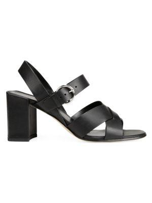 Via Spiga Sandals Opal Block Heel Sandals