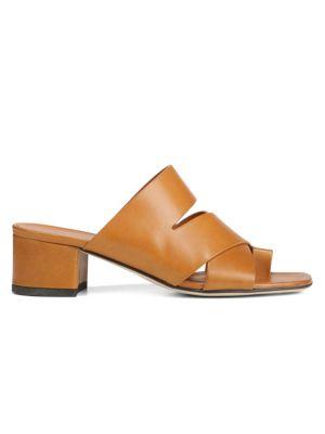 Via Spiga Sandals Fae Block Heel Sandals