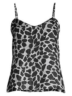 352e302826d6c RtA. Vita Leopard Silk Tank Top