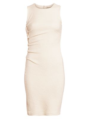 Halston Heritage Dresses Sleeveless Tweed Sheath Dress