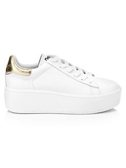 a164bd245db64a Cult Leather Platform Sneakers WHITE. QUICK VIEW. Product image. QUICK  VIEW. Ash