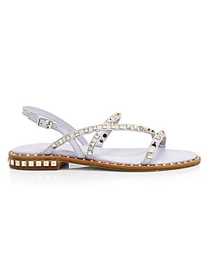 8aa398481b67 Ash - Precious Studded Leather Gladiator Sandals - saks.com