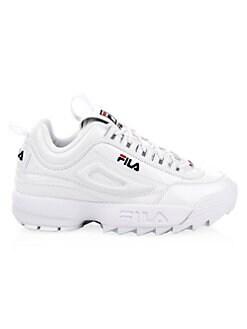 bdde7809ca8 FILA - Disruptor II Premium Leather Sneakers