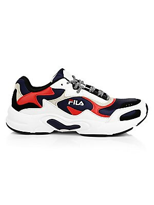 Luminance Chunky Colorblock Sneakers by Fila
