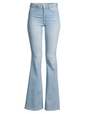 L Agence Bell High Rise Flare Jeans
