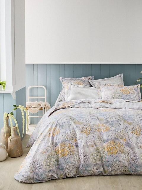 Bouquet Cotton Percale Duvet Cover, Anne De Solene Bedding Australia