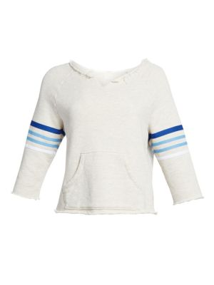 Mother Square Tear Striped Kanga Sweater