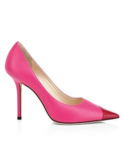 64ecb22bad5 Love Colorblock Leather Pumps PINK. QUICK VIEW. Product image