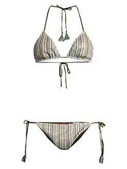 c516dcd1ea69d Two-Piece String Bikini Set OCEAN. QUICK VIEW. Product image. QUICK VIEW. Missoni  Mare