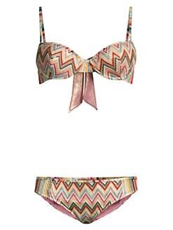 3136367bcb570 QUICK VIEW. Missoni Mare. Multicolor Stripe String Bikini