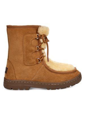 Ugg Boots Mukluk Revival Sheepskin Suede Boots
