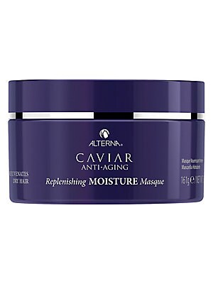 Image of WHAT IT IS From the Caviar Anti-Aging Collection. An intensive weekly moisturizing treatment that leaves hair smooth, silky and restored. No animal testing. Paraben-free. 5.7 oz. Made in USA. WHAT IT DOES Deep hydration and conditioning. Replenishes and s