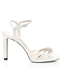 a7e2779e8c0fe QUICK VIEW. Jimmy Choo. Lilah Strappy Metallic Heeled Sandals