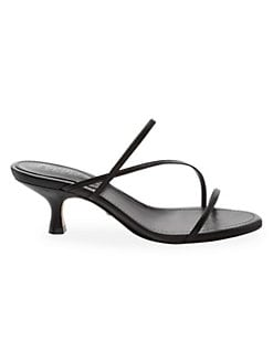 8f33a454a Evenise Strappy Kitten Heel Sandals BLACK. QUICK VIEW. Product image