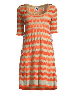 M Missoni Dresses Ribbon Wave Dress