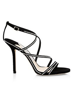 8ae2fe97901d QUICK VIEW. Jimmy Choo. Dudette Jeweled Strappy Sandals