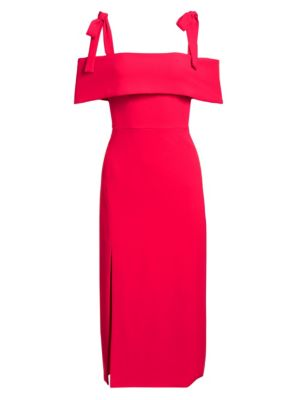 Ml Monique Lhuillier Dresses Tie Shoulder Sheath Dress