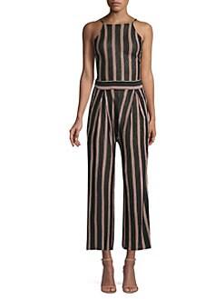 e281e2ec3d3 Joie. Briselle Linen Stripe Jumpsuit